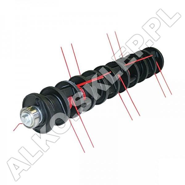 Kompletny wałek ze sprężynami do wertykulatora elektrycznego 38 VLE, 38 E nr 462222