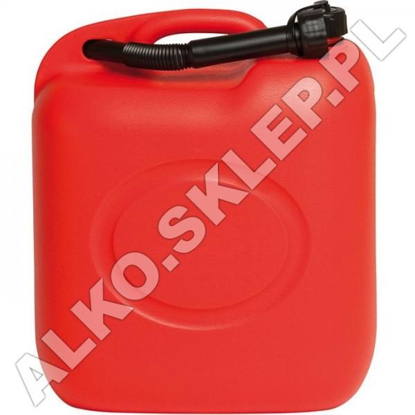 Kanister na paliwo 10L czerwony + lejek