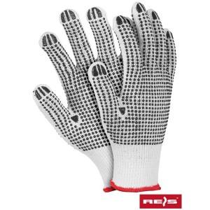 Rękawice ochronne wykonane...